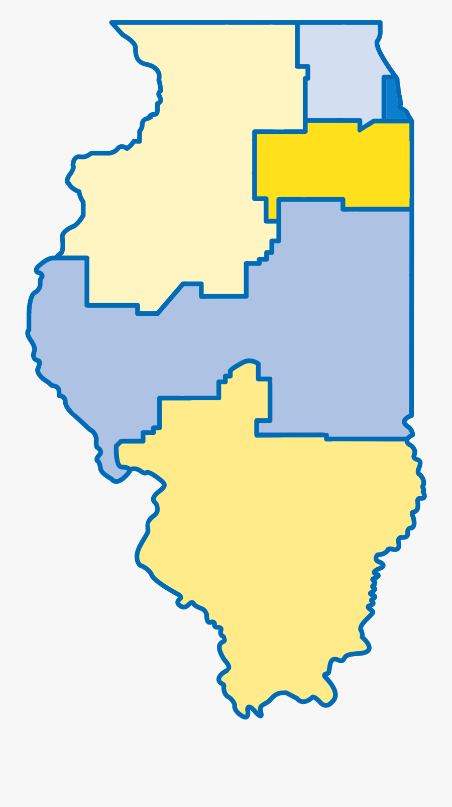 Star Net Regional Map - Map Of Landfills In Illinois, Transparent Clipart