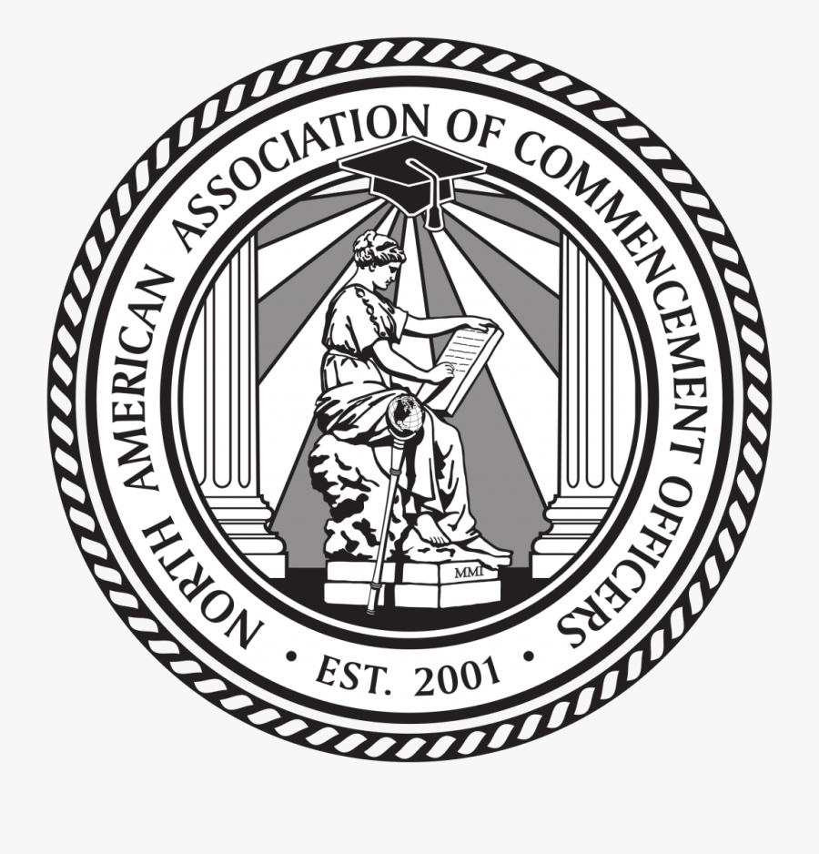 South Dakota State Seal In Black And White, Transparent Clipart