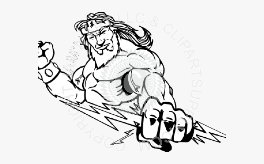 Zeus Drawing Easy Free Transparent Clipart Clipartkey