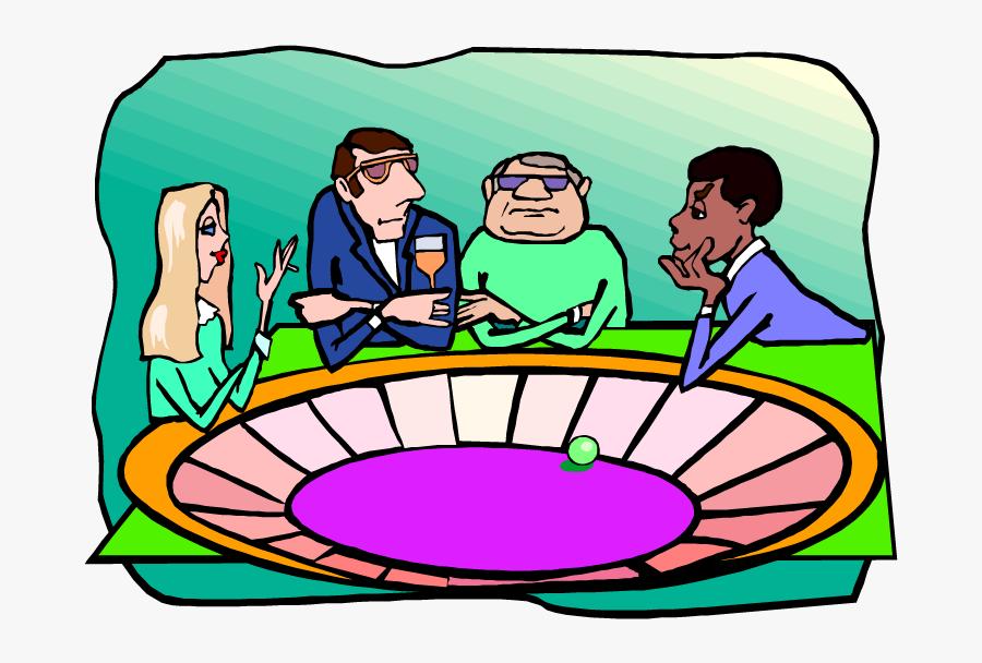 Gambling Addiction Funding - Cartoon, Transparent Clipart