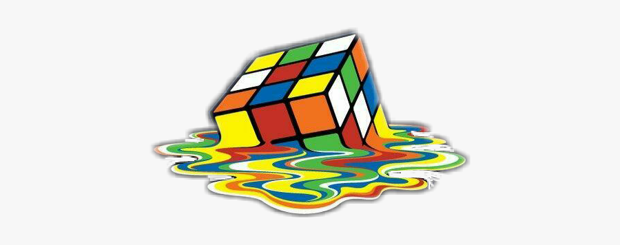 Melt Rubixcube Cube Rubiks Cube Wallpaper Phone Free Transparent Clipart Clipartkey