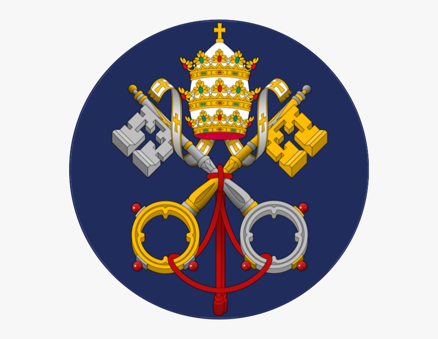Coat Of Arms Holy See, Transparent Clipart