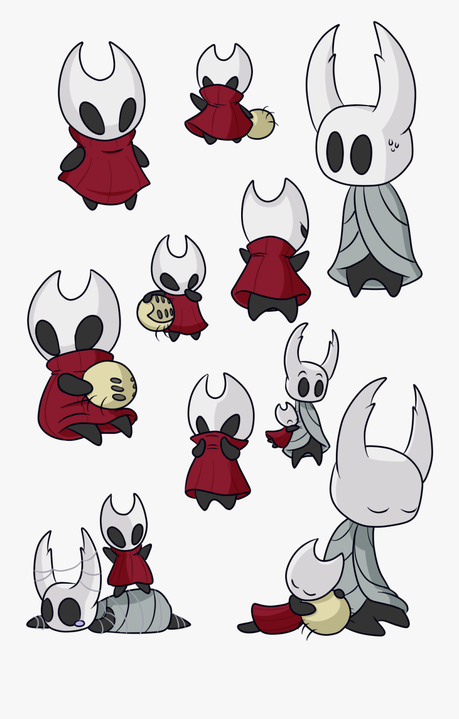 Transparent Destello Blanco Png - Hollow Knight The Knight And Hornet, Transparent Clipart