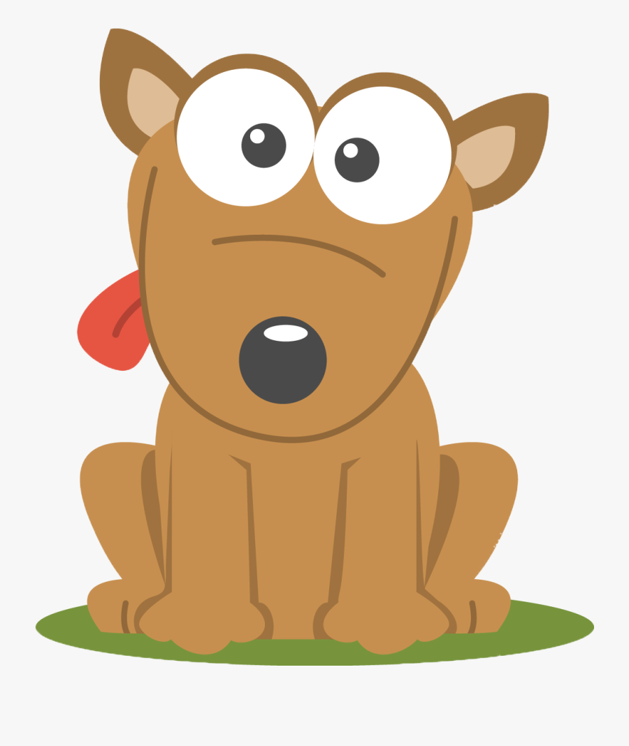 Puppy Cartoon Png - Cartoon Dog Transparent Background, Transparent Clipart