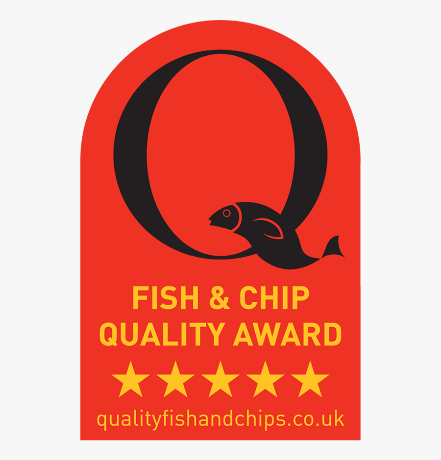 Fish And Chip Quality Award - Graphic Design, Transparent Clipart