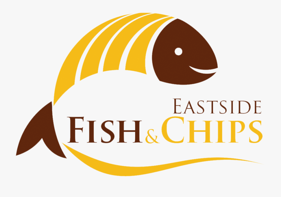 Fish & Chicken Logo, Transparent Clipart