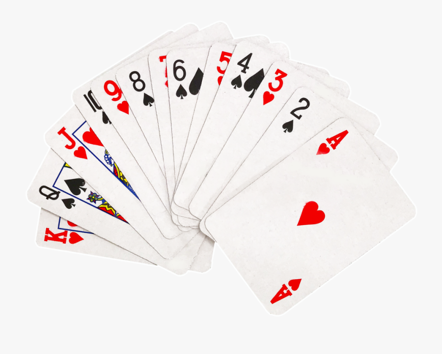 Fanned Playing Cards Png Clipart Freeuse Stock - Poker, Transparent Clipart