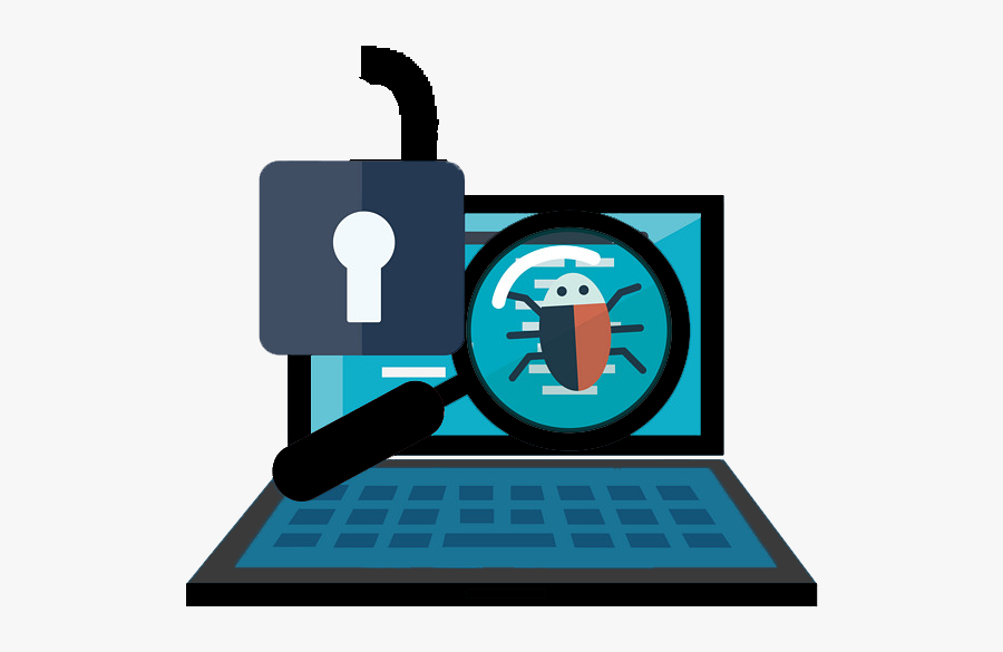 Computer Virus Protection - Computer Virus Icon Png, Transparent Clipart