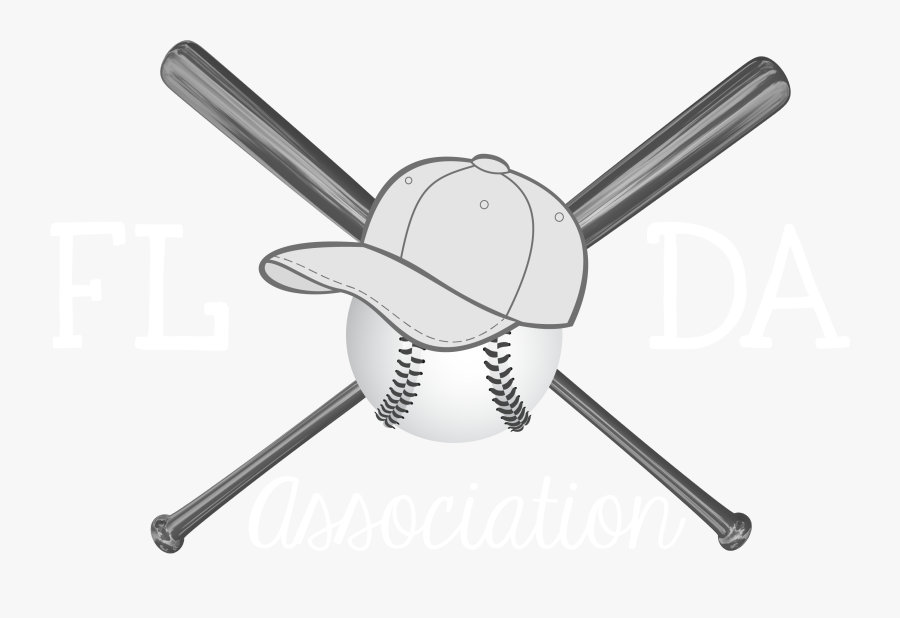 Transparent Background Baseball Bat Cross, Transparent Clipart