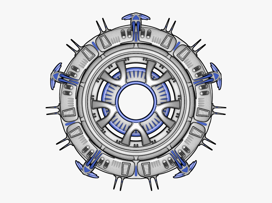 Transparent Spaceship Sprite Png - Sprite Sheet Space Station, Transparent Clipart