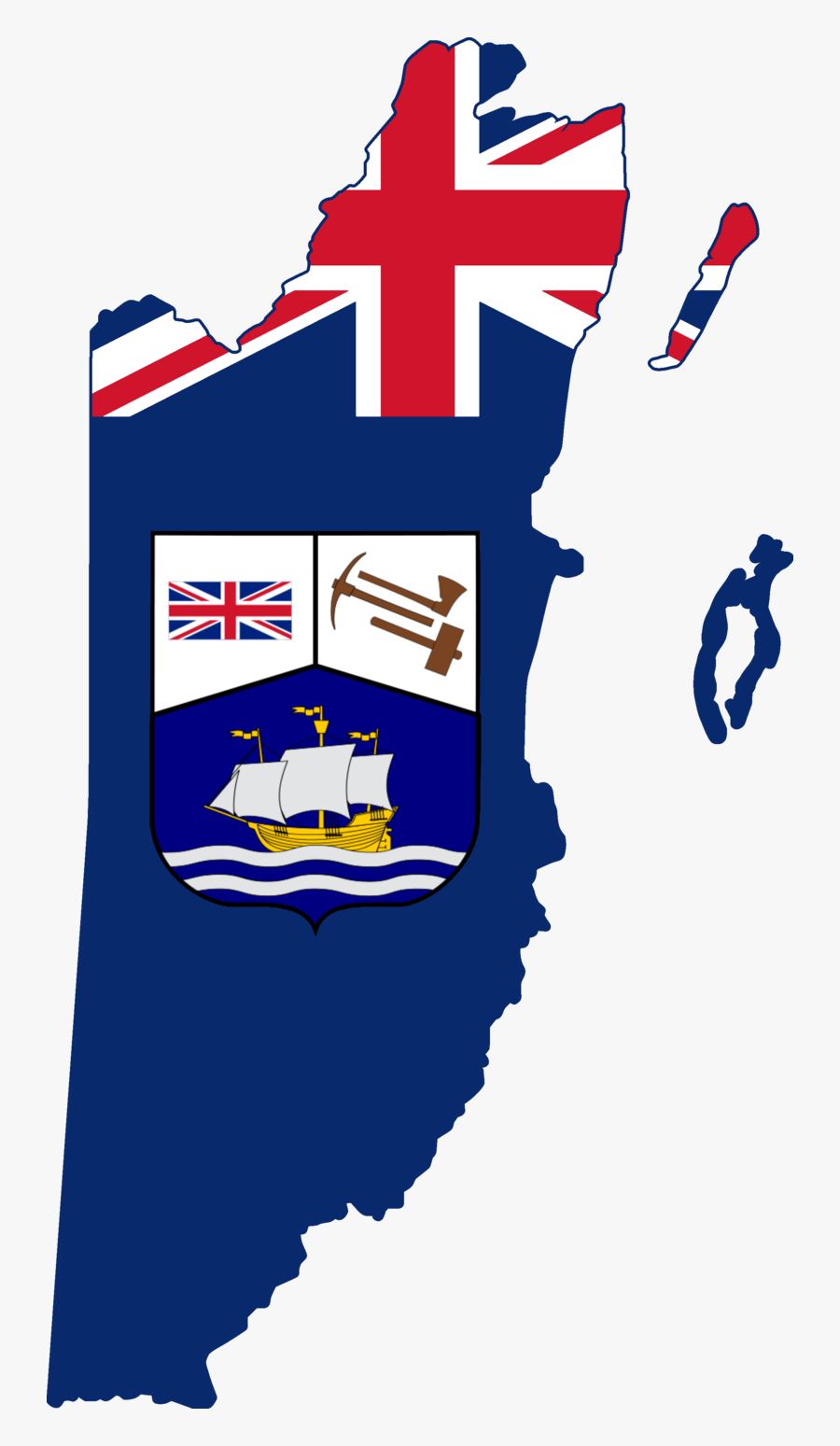 Flag Map Of British Hond - Commonwealth Of Nations Flag Map, Transparent Clipart
