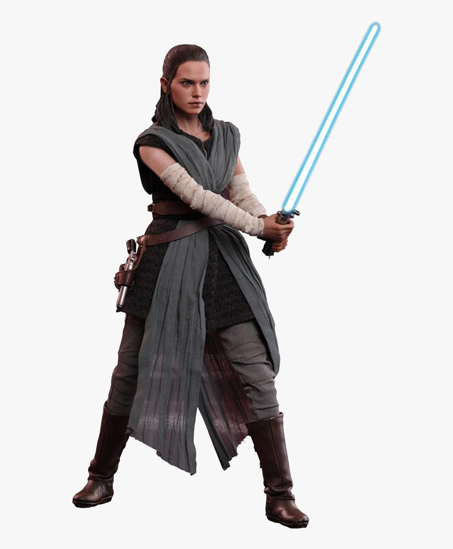 Rey Luke Skywalker Youtube Jedi Star Wars - Rey Last Jedi Outfit, Transparent Clipart
