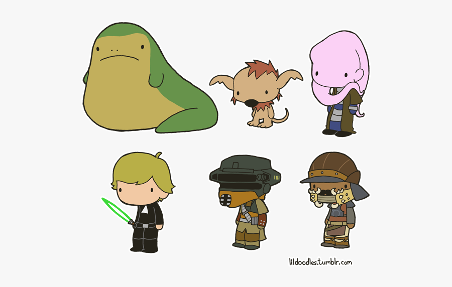 Star Wars Clip Art Jabba, Transparent Clipart