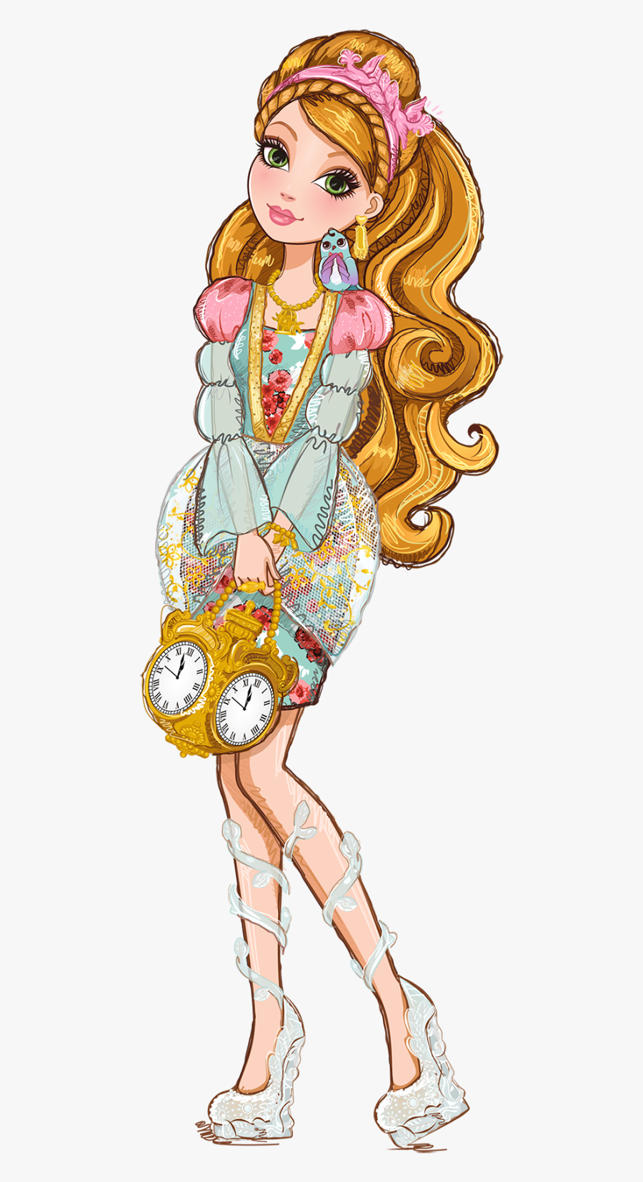 Character Ever After High, Transparent Clipart