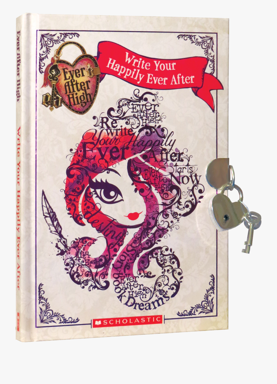 Ever After High - Diary Ever After High Books, Transparent Clipart