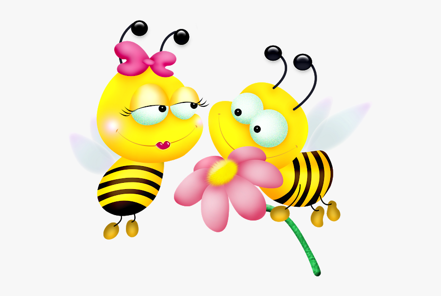 Honey Bee Love, Transparent Clipart