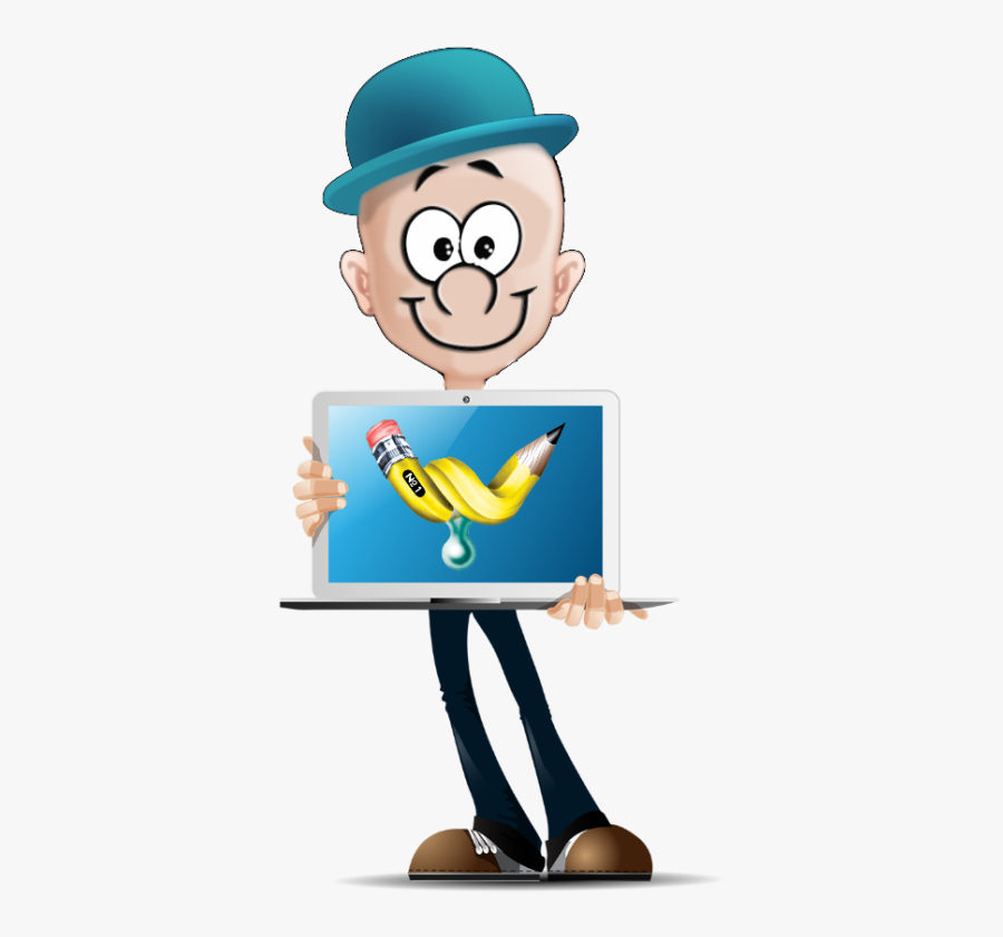 The Juice Man - Business Cartoon Characters Png, Transparent Clipart