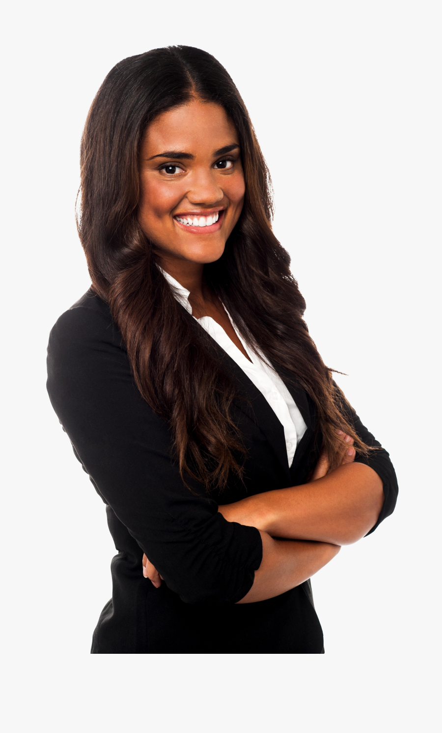 Black Woman Png - Real Estate Agents Business Cards, Transparent Clipart