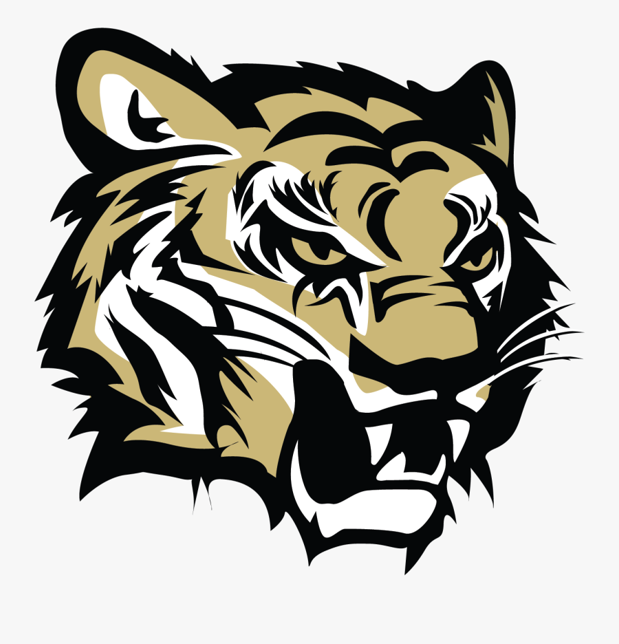 Tiger Mascot Head Logo Download - Northeast Mississippi Community College Mascot, Transparent Clipart