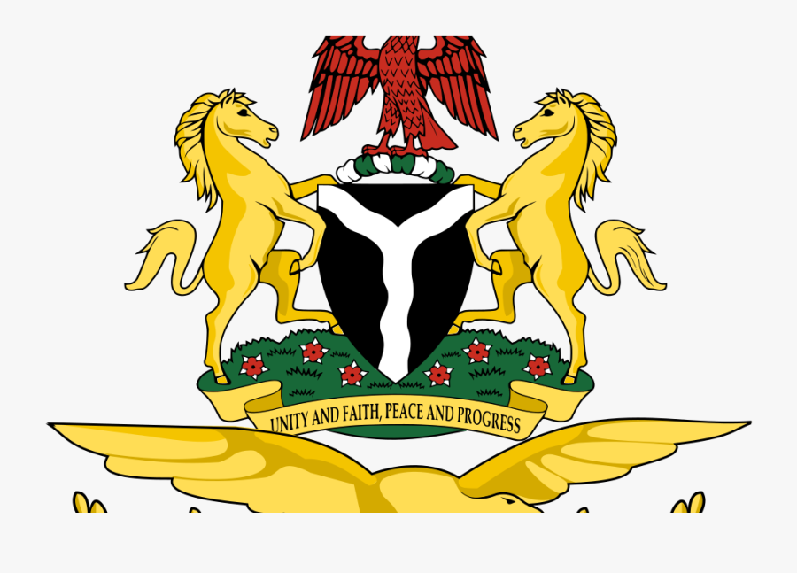 Yellow Coat Of Arms Nigeria, Transparent Clipart