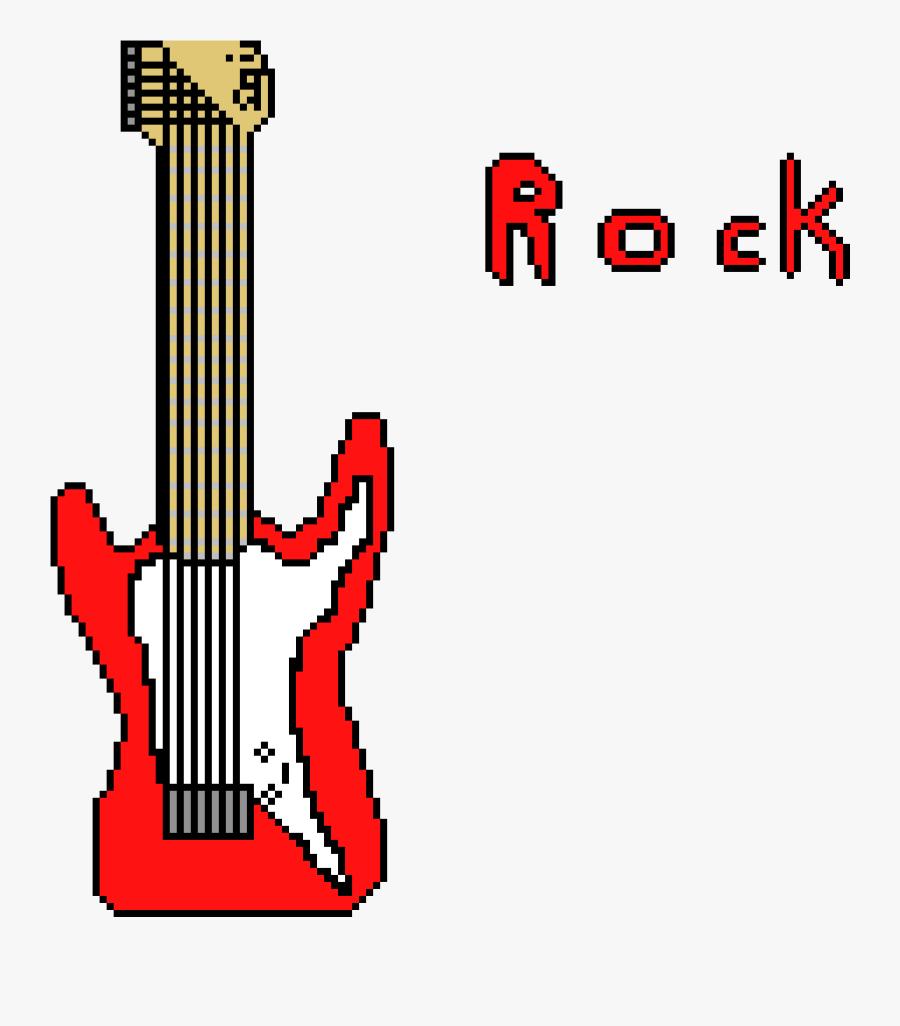 Rock & Roll Clipart , Png Download - Pixel Art Rock N Roll, Transparent Clipart