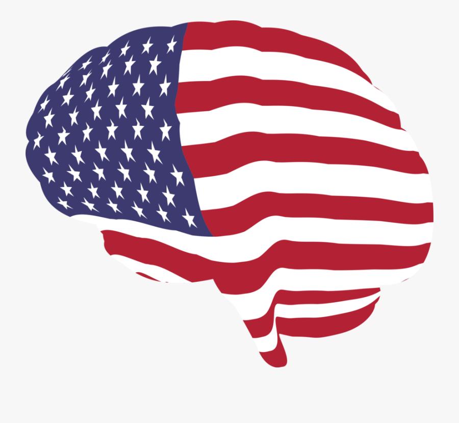 Ai Vector American Flag - Usa Globe Flag Png, Transparent Clipart