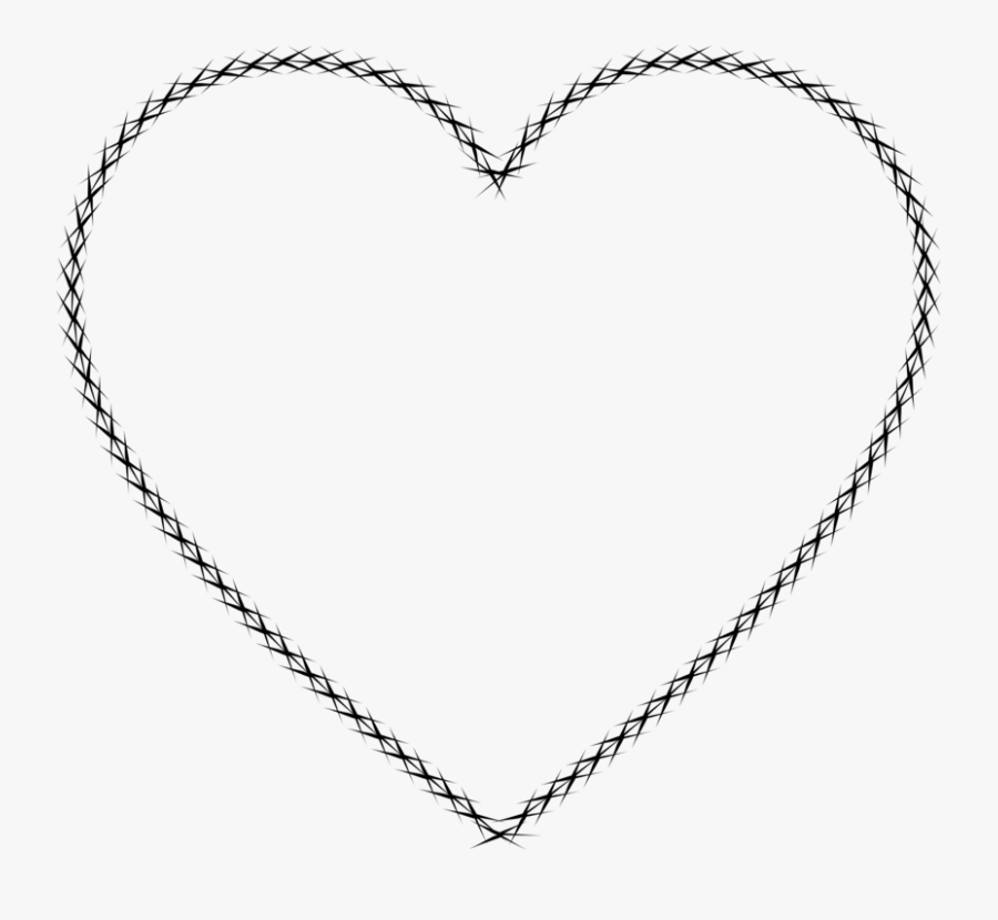 Heart,love,symmetry - Heart Drawing Valentines Day, Transparent Clipart