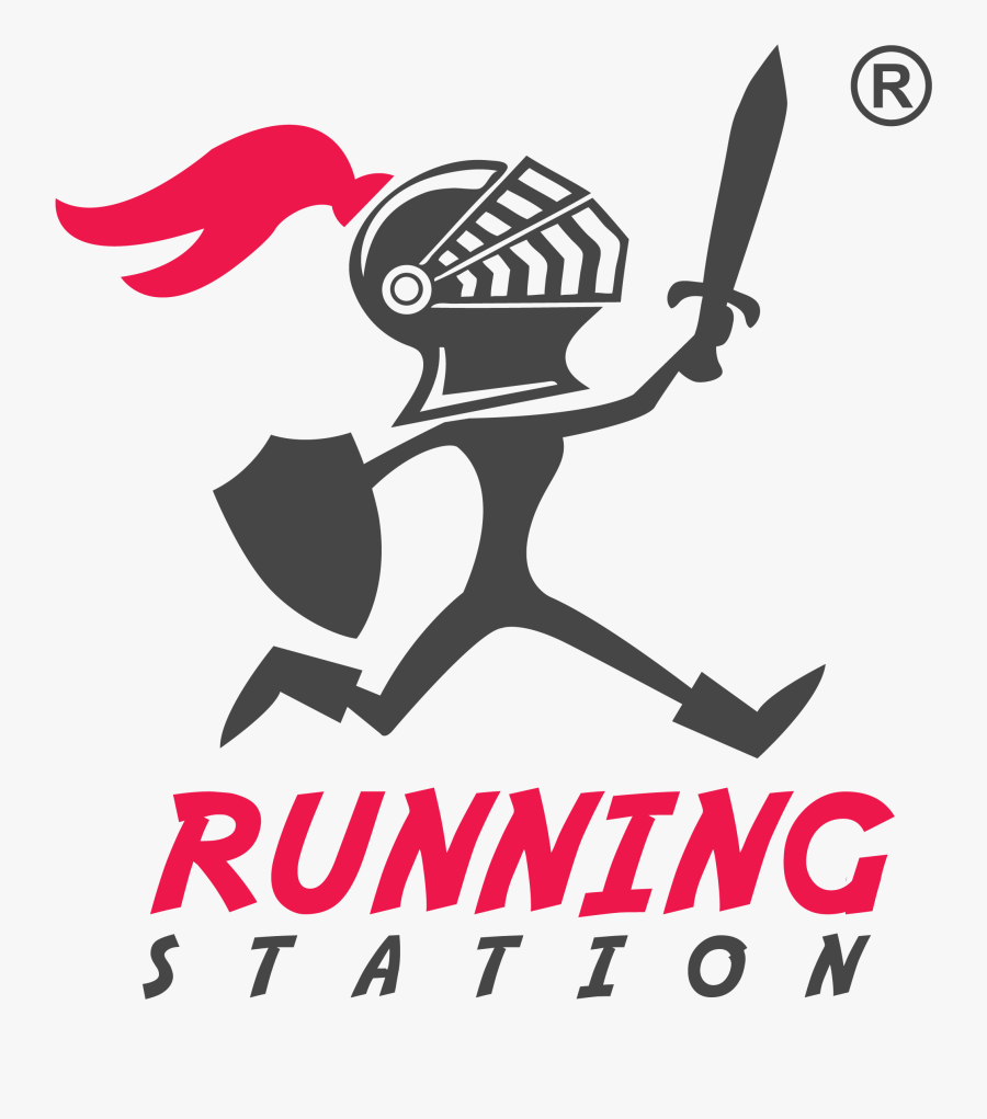 Running Station Store - Running Station Logo, Transparent Clipart