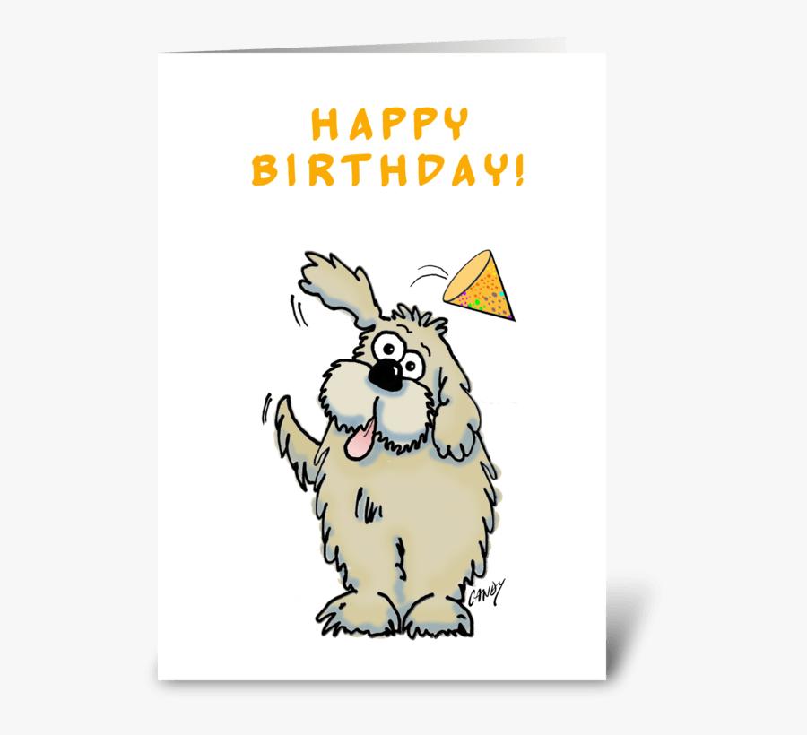 Happy Birthday Dog Happy Birthday Cartoon Dog Free Transparent Clipart Clipartkey