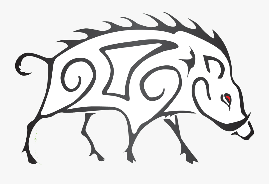 Easy Drawings Of A Boar, Transparent Clipart