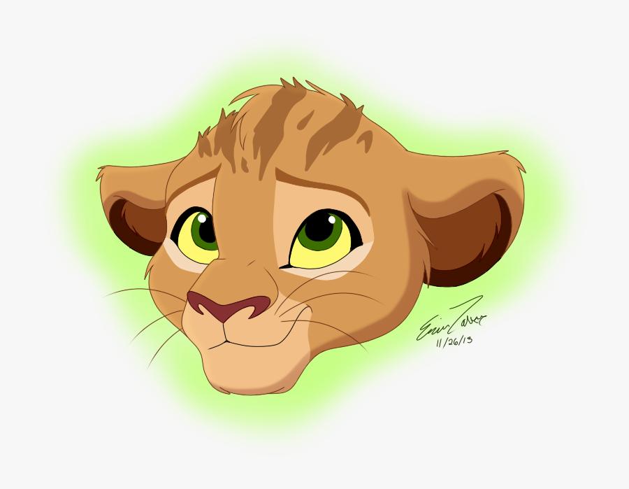 Baby Lion King Fan Art, Transparent Clipart