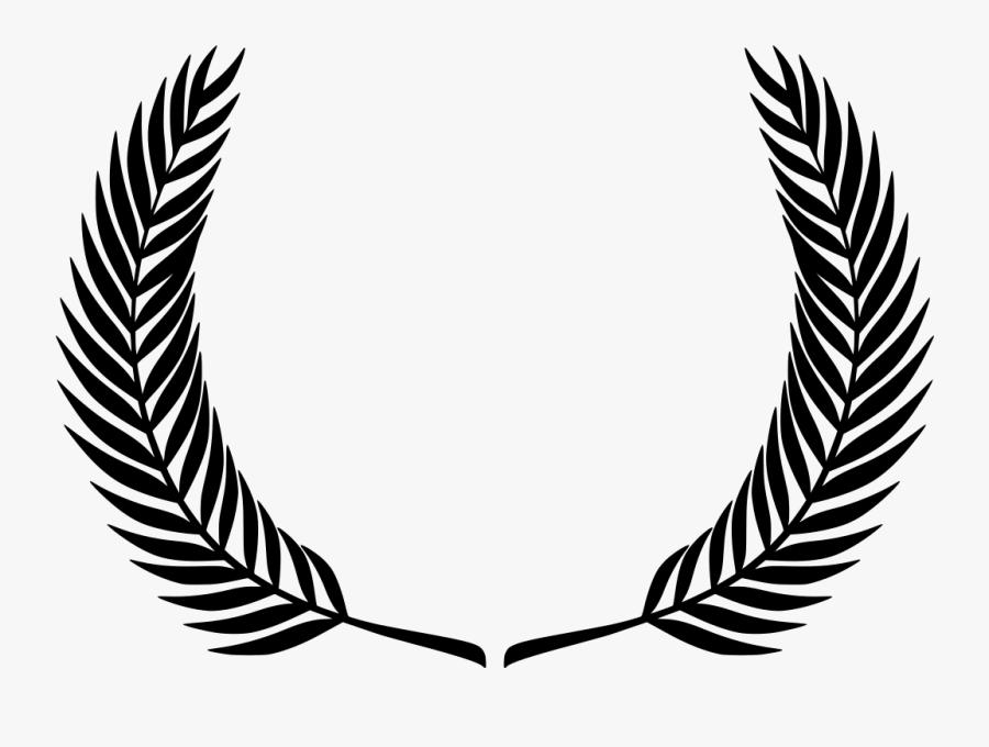 Transparent Greek Wreath Png Crest Leaves Png Free Transparent Clipart Clipartkey
