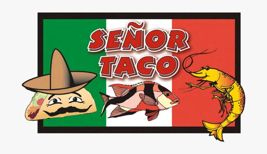 Senor Taco Delivery N - Cartoon, Transparent Clipart