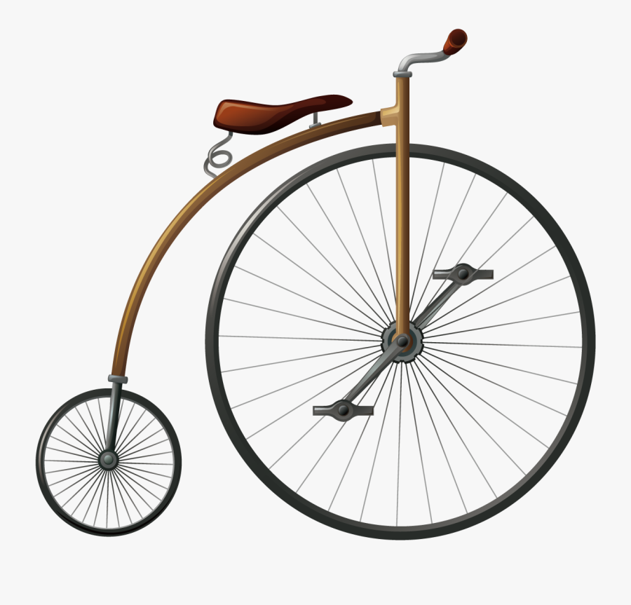 Bicycle Wheel Penny-farthing Big Wheel - Penny Farthing Wheel Png, Transparent Clipart