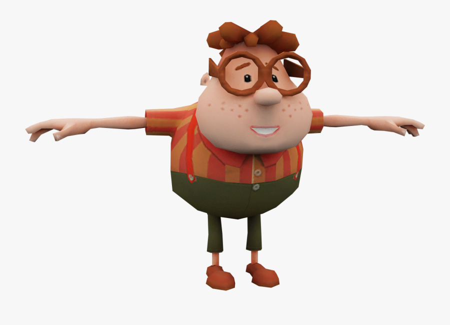 Carl Wheezer T Pose Free Transparent Clipart Clipartkey