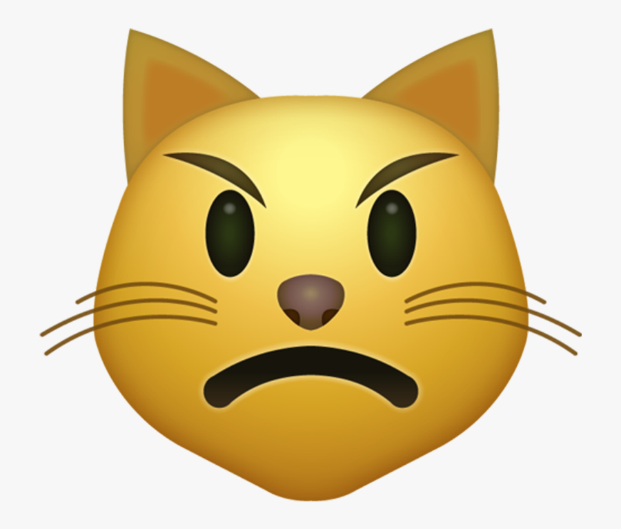 Iphone Cat Kiss Emoji, Transparent Clipart