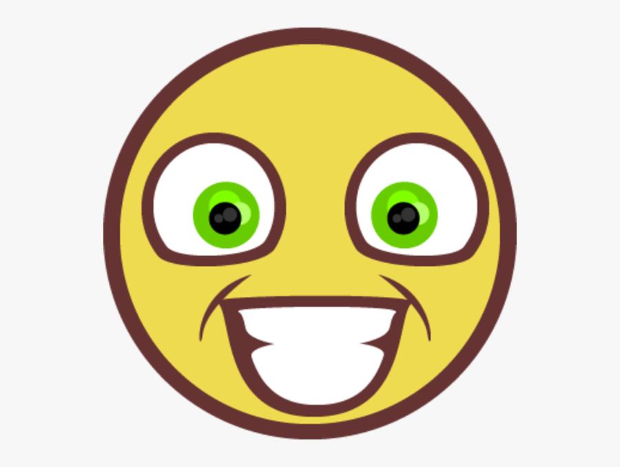 Smiley Face Emoticon Yellow Facial Expression Smile - Rape Face, Transparent Clipart