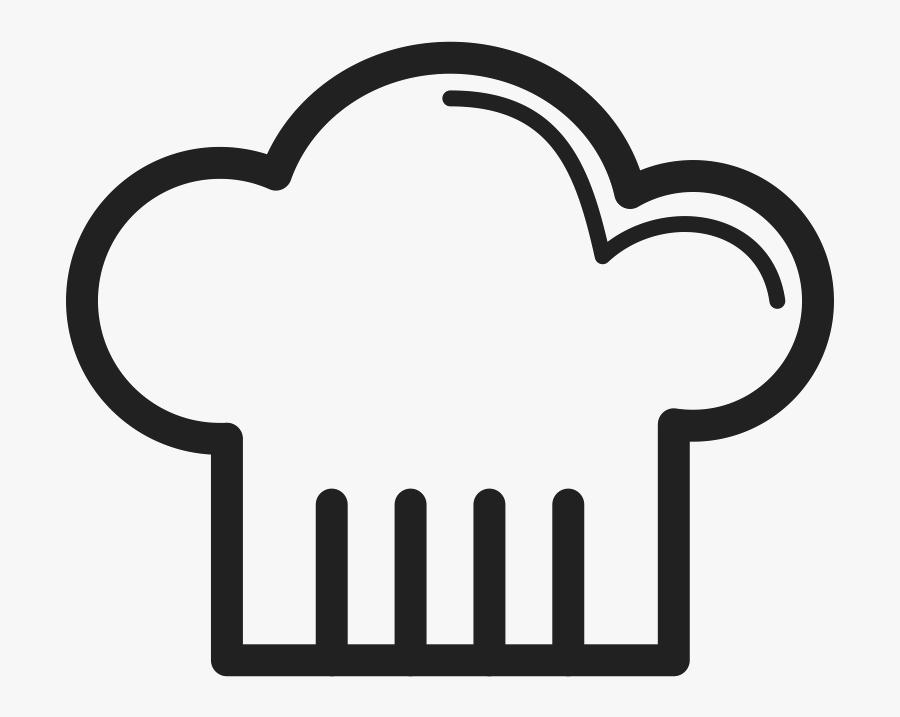 Chefs Uniform Cook Hat - Cartoon Chef Hat Png, Transparent Clipart