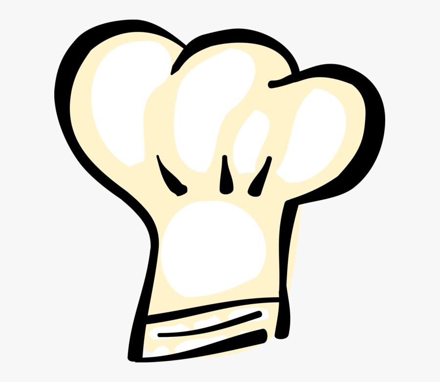 Vector Illustration Of Culinary Cuisine Cooking Restaurant - Chapeu De Chef Png, Transparent Clipart