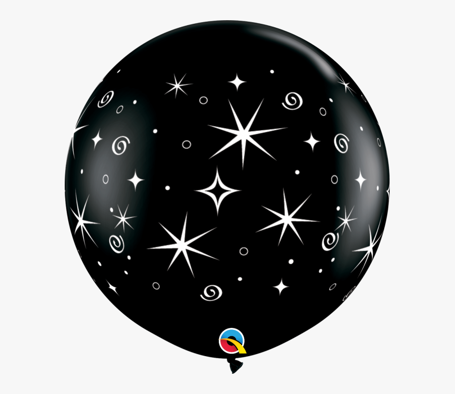 Balloons Swirls & Sparkles, Transparent Clipart