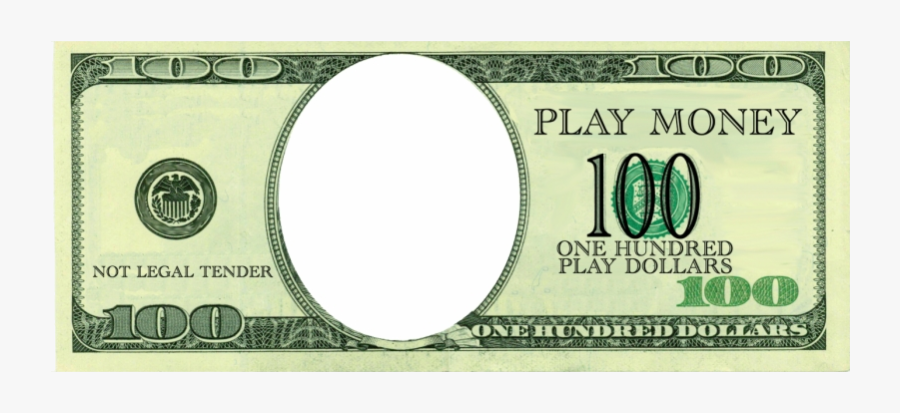 Bill Clipart Money Dollar With No Face Free Transparent - 100 Dollar Bill, Transparent Clipart