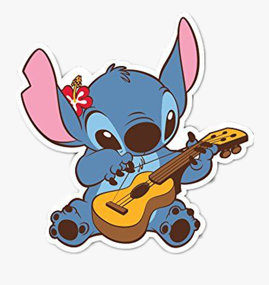 Transparent Stitch And Lilo Gif Clipart , Png Download - Stitch Stickers, Transparent Clipart