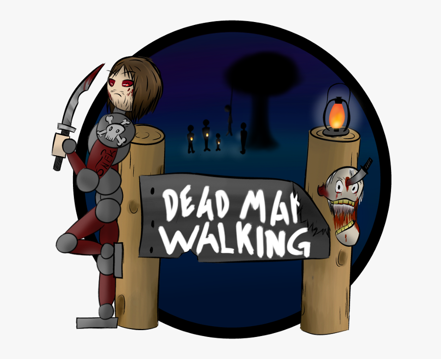 Dead Man Walking Cartoon, Transparent Clipart
