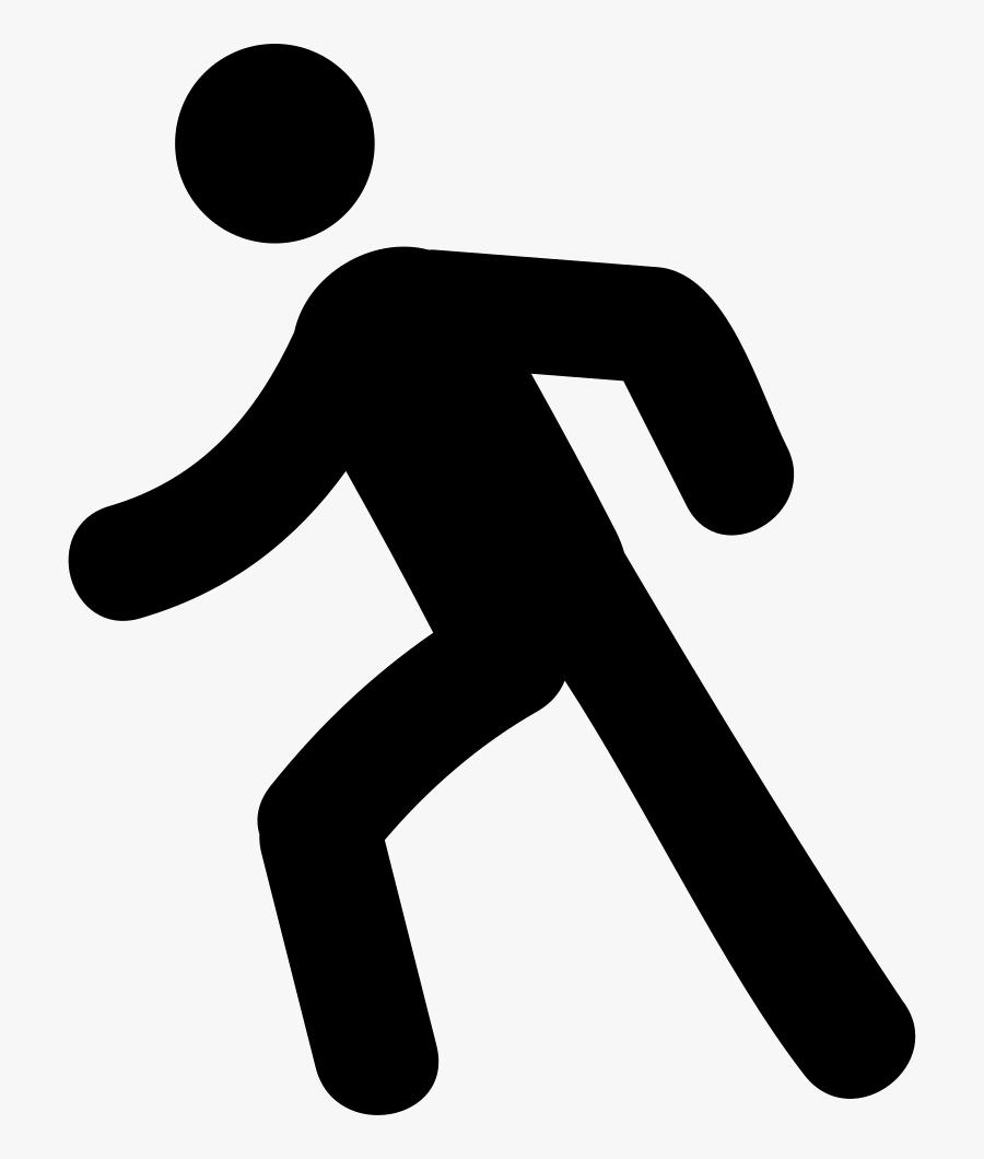 Man Walking - Man Walking Png Icon, Transparent Clipart