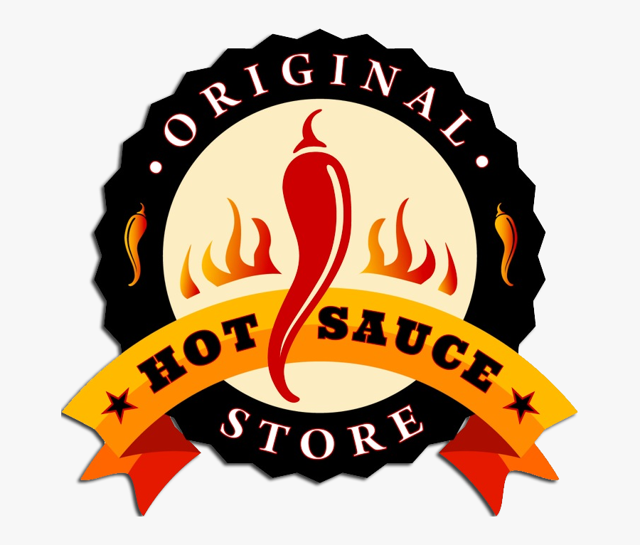 Logo - Original Hot Sauce Store, Transparent Clipart