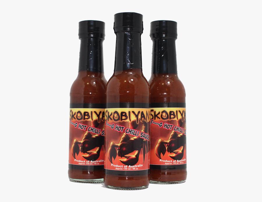 Hot Sauce Bottle Png - Glass Bottle, Transparent Clipart