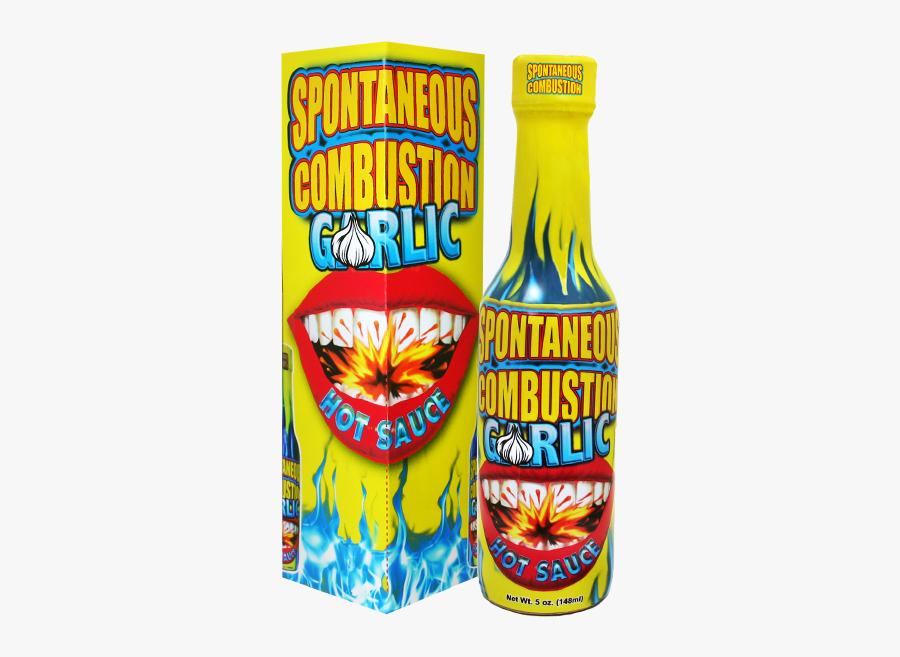 Spontaneous Combustion Hot Sauce, Transparent Clipart