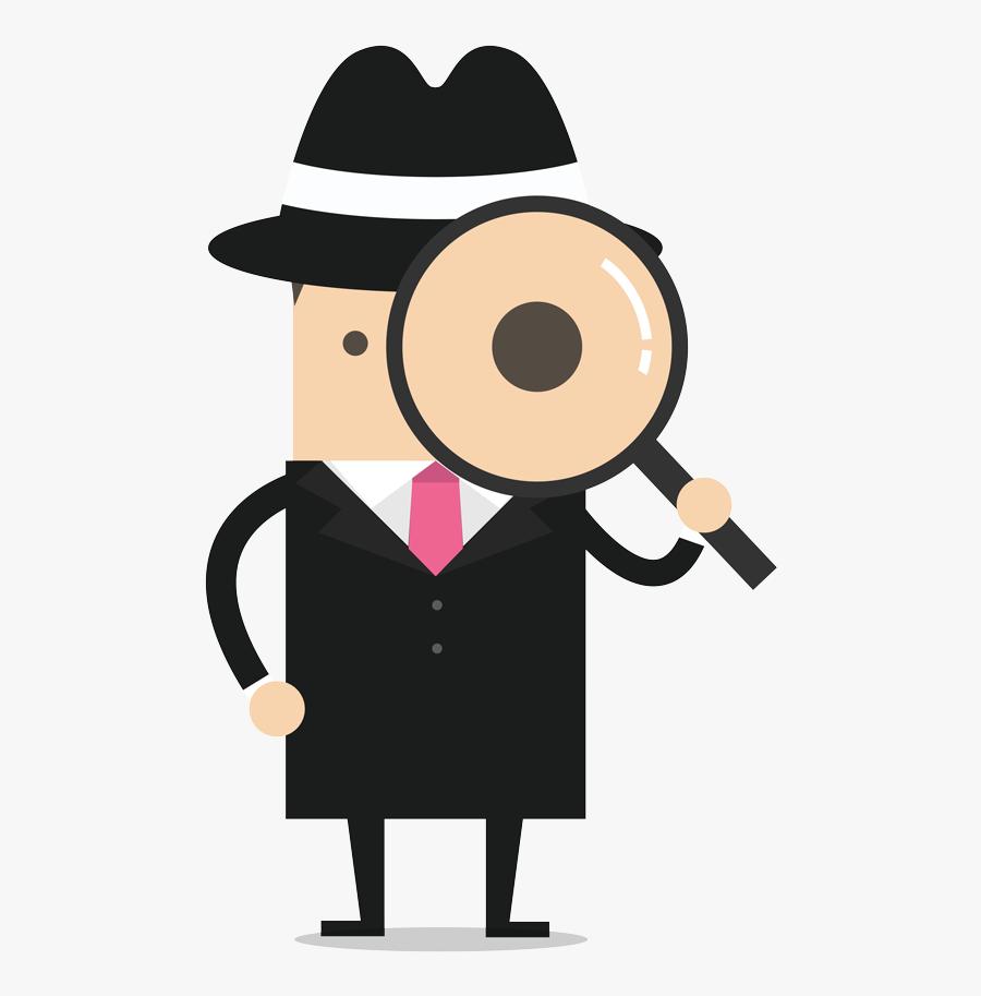 Cartoon Detective Camera , Free Transparent Clipart - ClipartKey