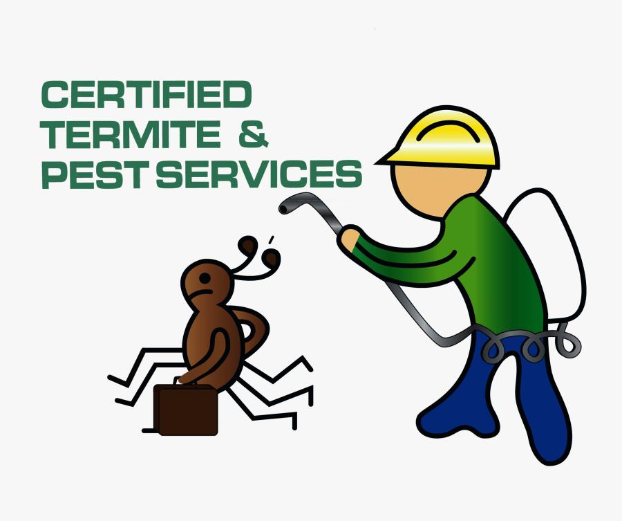 Certified Termite & Pest Services, Transparent Clipart