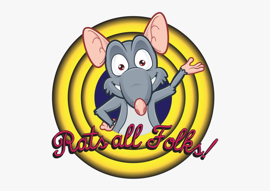Rats All Folks, Transparent Clipart